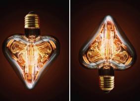 ampoule vintage pour luminaire personnalis. Black Bedroom Furniture Sets. Home Design Ideas